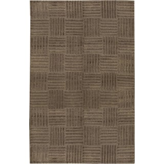"Tibetan Contemporary Hand Woven Rug - 5'11"" X 9'2"" For Sale"