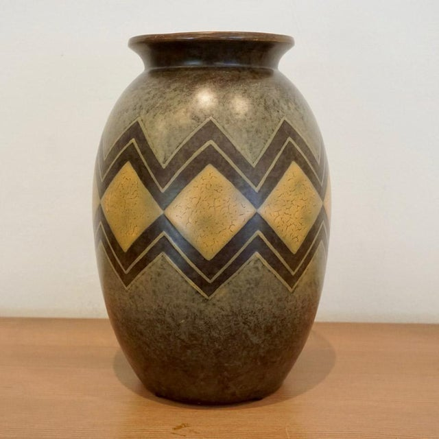 "This listing is for a Boch Freres Vase. It came from the estate of ""The Collection of Melva Bucksbaum."" Always on the..."