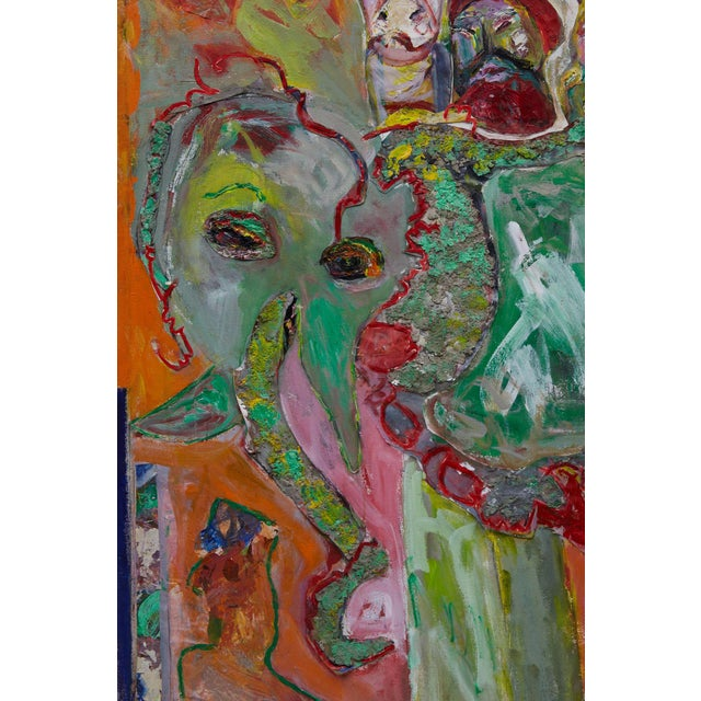 Wyona Diskin, Elephant Painting For Sale - Image 9 of 12