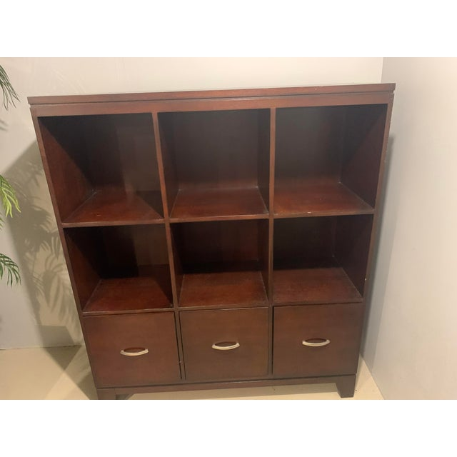 Ethan Allen Ethan Allen Cabinet with File Drawers For Sale - Image 4 of 6