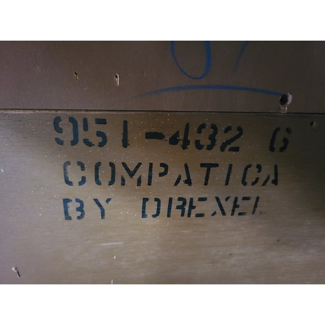 1960s Drexel Compatica China Cabinet For Sale - Image 11 of 13