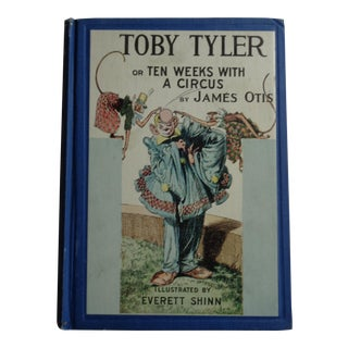 "Vintage 1937 Book ""Toby Tyler or Ten Weeks With a Circus"""