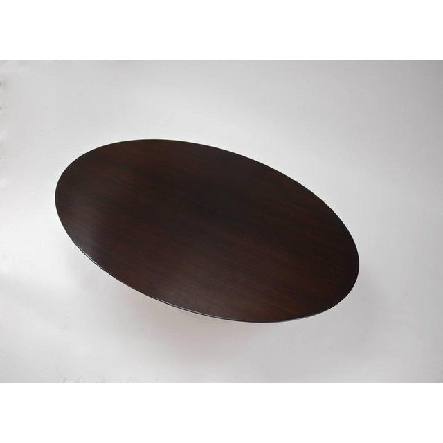 Knoll Oval Tulip Dining Table by Eero Saarinen for Knoll For Sale - Image 4 of 5