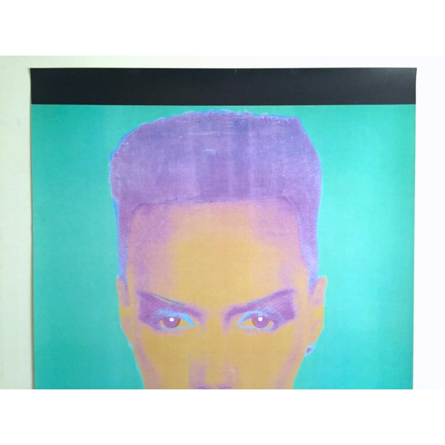 This Andy Warhol Foundation rare limited edition lithograph print extra large monumental collector's The Andy Warhol...