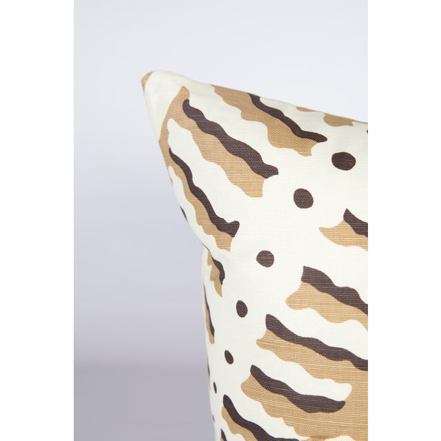 Custom Rust Ferns Uni Pillows - a Pair - Image 2 of 5