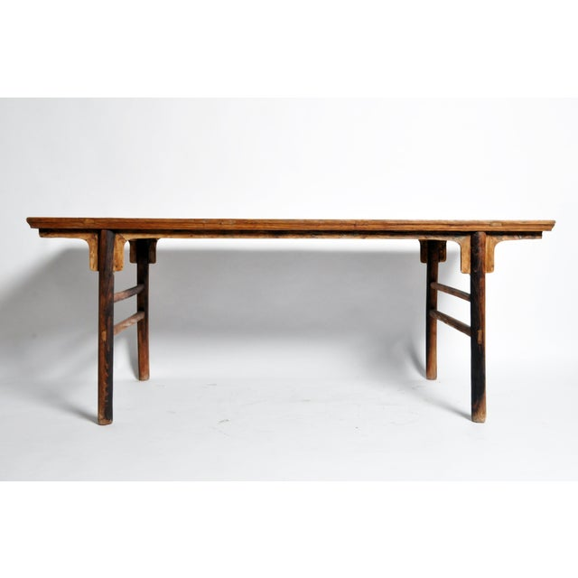 Chinese Painting Table with Round Legs For Sale - Image 12 of 13