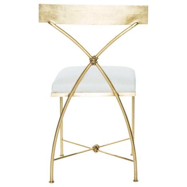 Hollywood Regency Rivers Spencer Ivey Dining Chair For Sale - Image 3 of 6