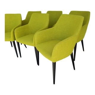 Set of 6 MCM Wendelbo Scandinavian Danish Mid Century Modern Chairs For Sale