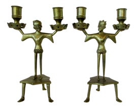 Image of Medieval Candle Holders