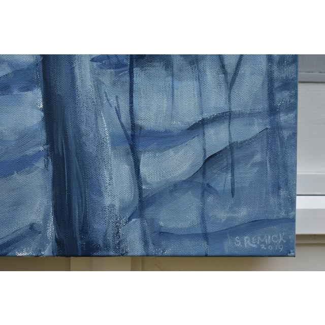 "Contemporary Painting, ""Silent Moonlight"", by Stephen Remick For Sale In Providence - Image 6 of 9"