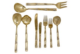 Image of Gold Serving Utensils