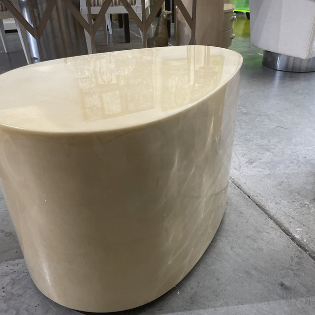 1970s Modern Goatskin Coffee Table For Sale In Miami - Image 6 of 10
