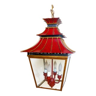 Charles Edwards Red Pagoda Lantern
