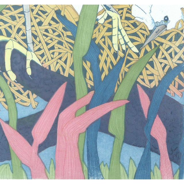 """Judith Hall """"The Rookery"""" Intaglio Print For Sale - Image 5 of 10"""
