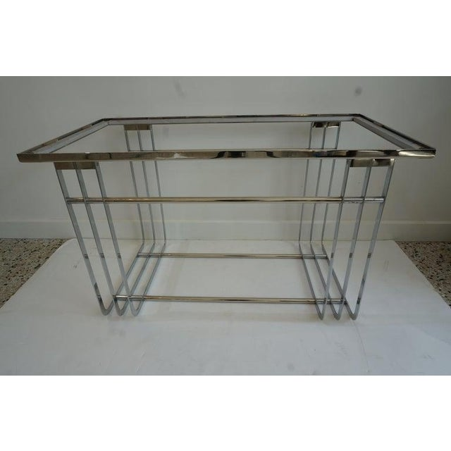 Modern Art Deco 1930s Donald Deskey Cocktail Table Streamline Moderne Machine-Age For Sale - Image 3 of 13