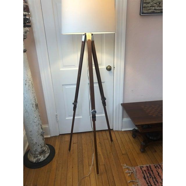 Industrial Surveyors Floor Lamp For Sale - Image 13 of 13