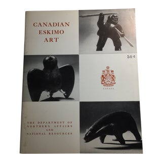 1965 Canadian Eskimo Art Sculpture Drawing Book For Sale
