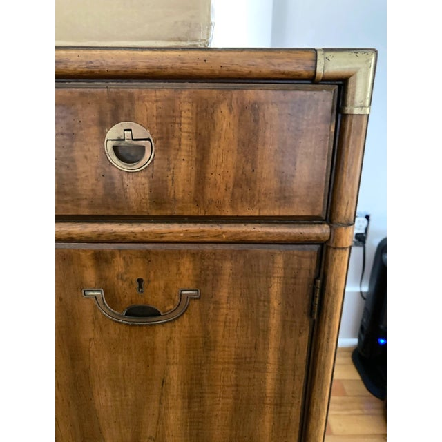 1970s Campaign Drexel Accolade Credenza For Sale In Seattle - Image 6 of 13