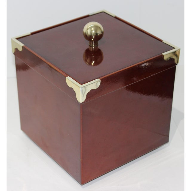 MId-Century Modern Georges Briard Collections Limited Designs Ice Bucket For Sale - Image 12 of 13