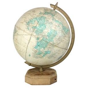 "1970s Vintage Old World Cram's 12"" Imperial World Globe For Sale"