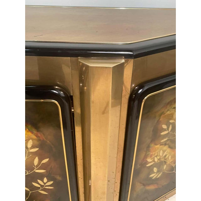 Mid-Century Modern Mastercraft Tree of Life Console or Sideboard For Sale - Image 11 of 13