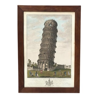 Hand Colored Engraving by Antonia Veirto For Sale