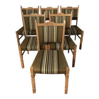 Antique Danish Dining Chairs - Set of 6