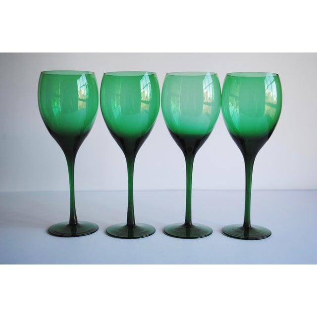 Vintage Long Stemmed Wine Glasses - Set of 4 - Image 3 of 4