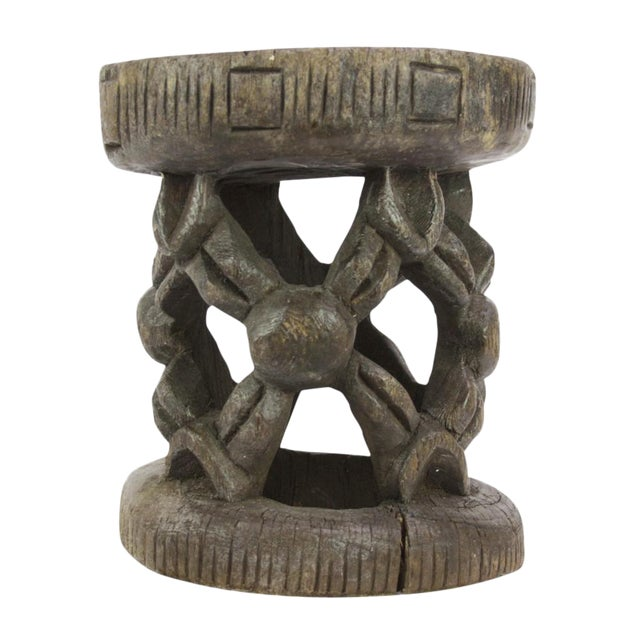 Dayo Tribal Carved Stool For Sale