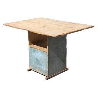 Primitive Wood Table For Sale