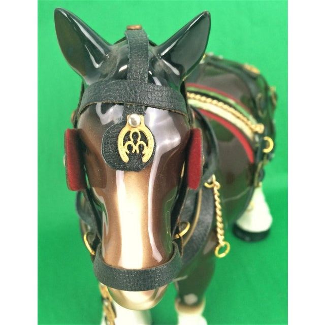 Brooks Brothers Porcelain Draught Horse Figure - Image 7 of 9
