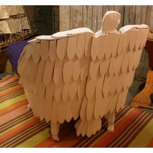 Antique Eagle Chaise Lounge For Sale - Image 4 of 9