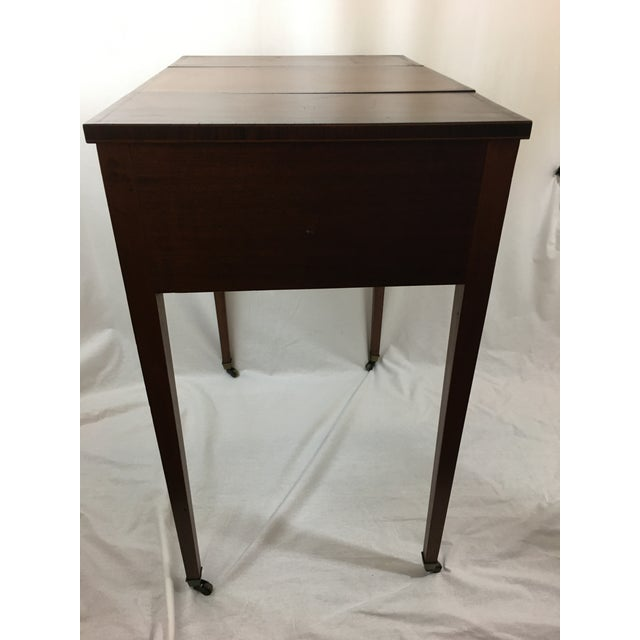 Metal Early 20th Century Mahogany Vanity For Sale - Image 7 of 13
