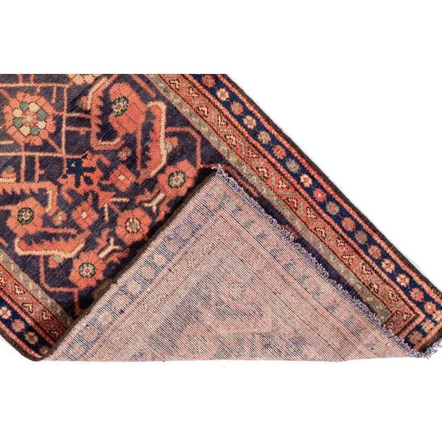 "Islamic Apadana - Vintage Persian Malayer Runner Rug, 3'0"" X 9'6"" For Sale - Image 3 of 7"