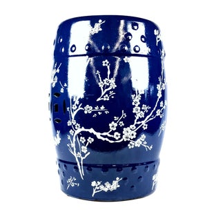 Modern Chinese Ceramic Garden Stool For Sale