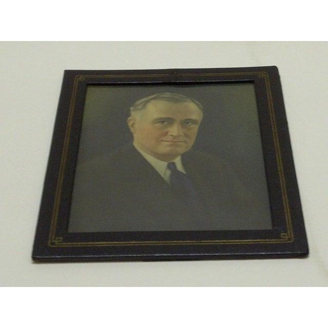 Vintage Photograph President Franklin D. Roosevelt, 1930 - Image 3 of 5