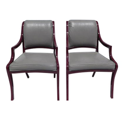Century Hickory Armchairs - Pair For Sale