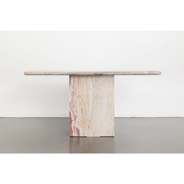Stone Late 20th Century Marble Console Table For Sale - Image 7 of 7