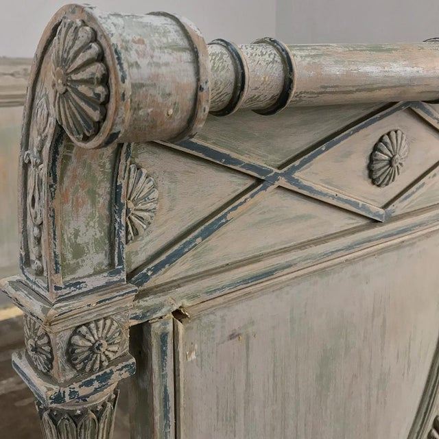 19th Century Painted Directoire Day Bed For Sale - Image 11 of 13