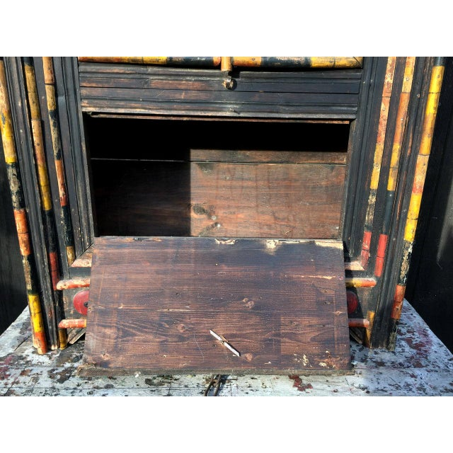 Antique Punjab Dowry Cupboard-Cabinet - Image 11 of 11
