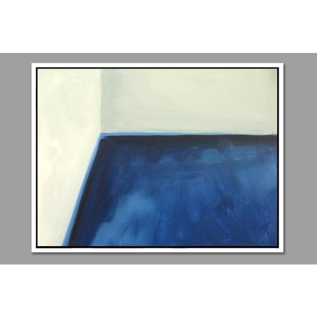 """Abstract Open Door"" Fine Art Framed Giclée Print - Image 2 of 3"