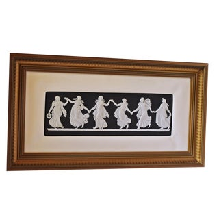 """Dancing Hours 2"" Wedgewood Framed Plaque"