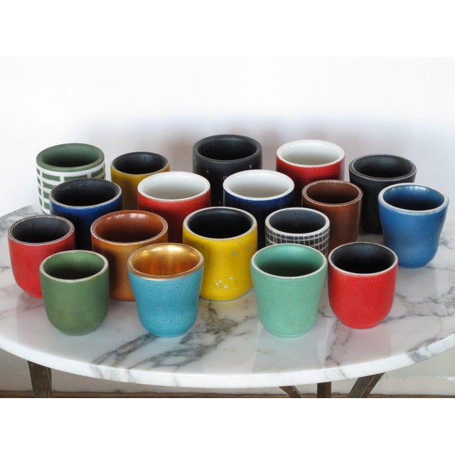 Collection of Waylande Gregory Cups - Set of 18 For Sale - Image 9 of 10