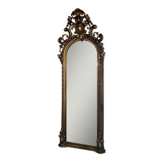 Victorian Gilt Pier Mirror For Sale