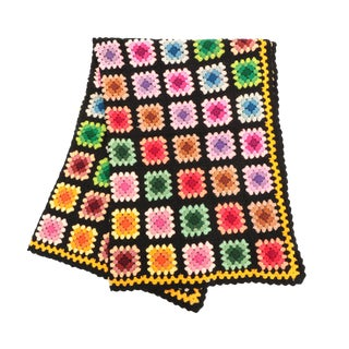 Granny Square Afghan For Sale