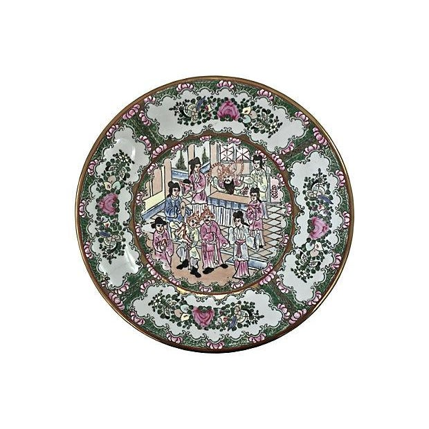 Antique Famille Wall Charger - Image 1 of 6