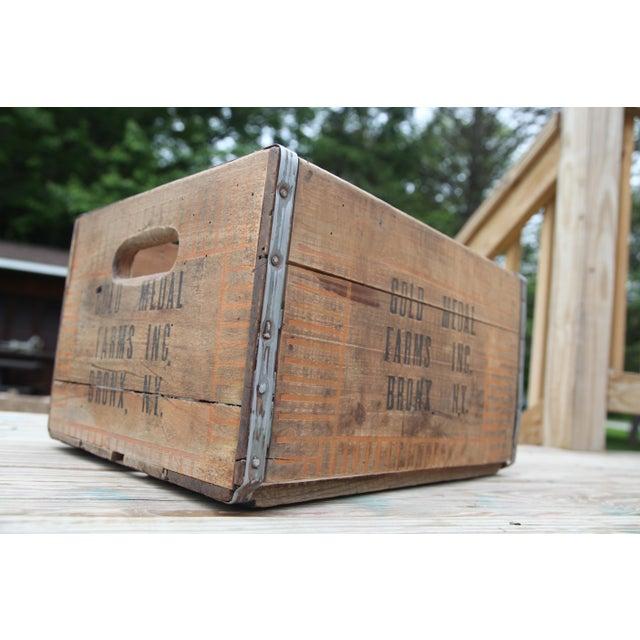 Vintage Wooden Farm Crate