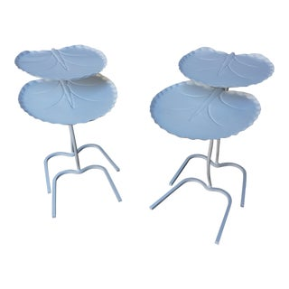 Salterini Lily Pad Nesting Side Tables -- 2 Pair