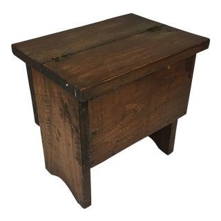 Early 20th Century Shoe Shiner's Box