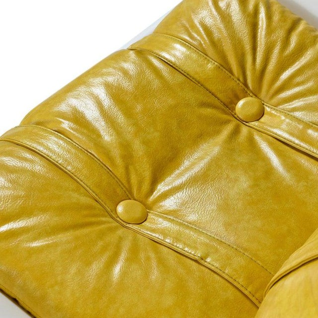 Futorian Decorian Molded Plastic Lemon Candy Shell Italian Modern Lounge Chairs For Sale - Image 9 of 13